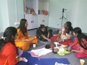 Infant Massage Training for Parents